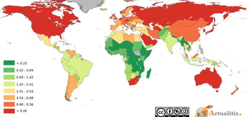 mappa-mondo-emissioni-di-co2-pro-capite-per-paese